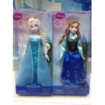 Muñeca De Disney De Frozen Ana Y Elsa!!!!!!