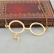 Collar Harry Potter Lentes Gafas Cicatriz Reliquias Muerte