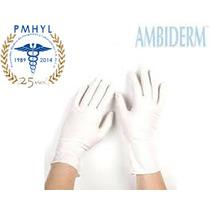 Guante Latex Ambiderm Plus Blanco C/100 Pmhyl