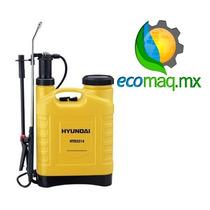 Fumigadora Aspersora Bomba Manual Hyundai 22 Lt Ecomaqmx