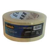 3m Scotch Cinta De Empaque Transparente 48 Mm X 150 M