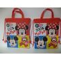Dulceros Bolsas 15 Minnie Y Mickey Mouse Fiestas Unisex Bolo