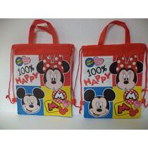Dulceros Bolsas 10 Minnie Y Mickey Mouse Fiestas Unisex Bolo