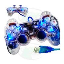 Control De Juegos Para Pc Laptop Gamepad Con Palancas Usb