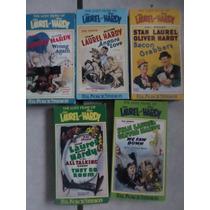 Coleccion Filmes Perdi2 El Gordo Y El Flaco 10 Vhs Importa2