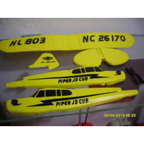 Fuselaje Completo Avioneta R/c Piper Cub J3 Huale Hl803 2ch