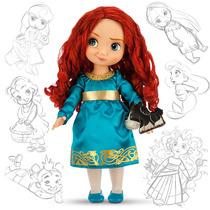 Muñecas Merida Brave Tiana Bella Animator 40cm Disney Store