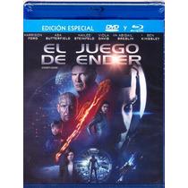 El Juego De Ender . La Pelicula En Blu-ray + Dvd