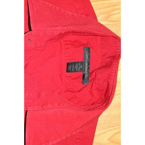 Camisa Express Roja Talla M Stretch