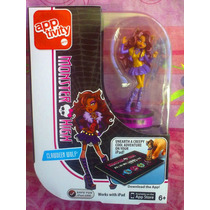Monster High Figura De Clawdeen Wolf Para Juego De Ipad