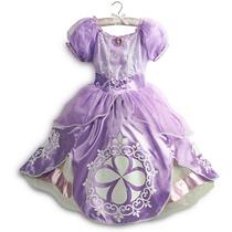 Disfraz Vestido Princesa Sofia Original Disney Talla 3, 4 5/