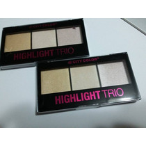 Paleta Iluminadora City Color Highlight Trio
