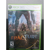 Fracture Xbox 360 Nuevo De Fabrica Citygame