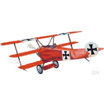 Guillows Avion Fokker Dr1 Triplano P/armar Madera Balsa 1/14