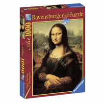 Ravensburger Rompecabezas Mona Lisa Leonardo Da Vinci 1000 P
