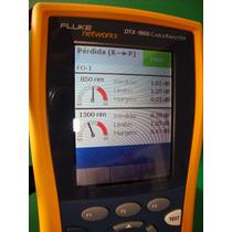 Escaneo De Fibra Óptica, Certifica Con Fluke Net., Desempeño