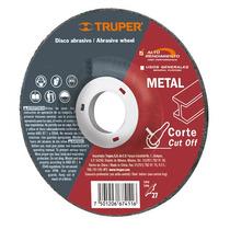 Disco Abrasivo Corte De Metal 4 1/2 Pulgadas Truper 11549