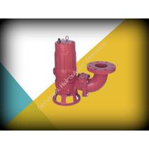 Bomba Sumergible Para Agua Sucia Trituradora 3f 220v 2hp 3