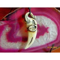 Collar Y Dije-forma-colmillo-elefante-flete Gratis