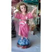 Divino Niño Jesús 20cm Resina Terminado Fino.