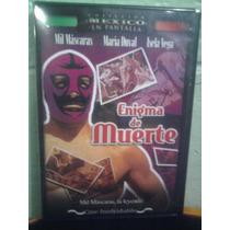 Dvd Lucha Libre El Mil Mascaras Enigma De Muerte El Santo