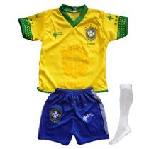 Uniformes Futbol Niños Varios Equipos - Talla 1 A La 14 S D