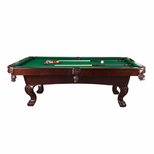 Mesa de billar c accesorios y buchacas de piel mega lujosa for Accesorios de mesa de billar