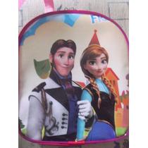 Lote 10 Mochilas Dulceros Frozen Elsa Y Ana Olaf