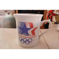 Taza Olimpiadas Los Angeles 1984 Edicion 1980 Sport Deportes