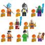 Set Dragon Ball Sw4 Goku Vegeta Gohan Compatible Con Lego
