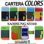 Funda Cartera Flip Cover Samsung Galaxy S5310 Pocket