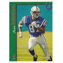 1997 Topps Minted In Canton Sean Dawkins Wr Colts