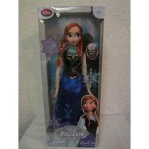 Muñecas De Disney De Frozen Ana Es Musical Mide 39 Cm !