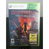 Resident Evil Operation Raccoon City Con Extras Xbox 360