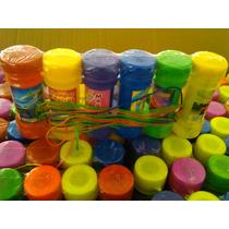 Burbujas Pompas Jabón Caja 60 Pzas Fiestas Bolos Cumpleaños