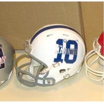 Mini Casco Nfl Baltimore Colts Y Nombre Jugador Nfl