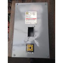 Gabinete Metalico Para Interruptor Square D 100 Amp Max