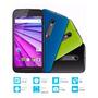 Moto G 3 Er. Generación Libre Dual Sim 16 Gb + 2 Caratulas