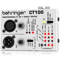 Behringer Ct100 Probador De Cables Acepta Xlr 1/4 1/8 Maa