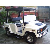 Carro Electrico Tipo Humer Para Golf