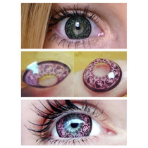 Pupilentes Lentes Hello Kitty Circle Lenses Originales