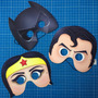 Paquete De 50 Antifaces De Batman Para Fiesta Temática
