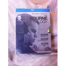 The Bourne Trilogy - Matt Damon - Trilogia Bourne - Bluray