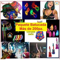 Paquete Batucada Fiesta Led Y Neón Boda,xv Años.antro.