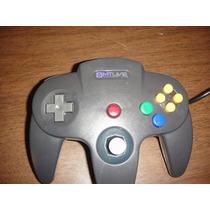 Control Nintendo N64 Nuevo Generico En Caja Garantia