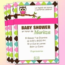 Invitaciones Baby Shower Bhúos-baby Shower-bhúos