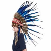 Penacho Indigena Apache Indio Para Niños Envio Gratis
