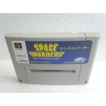 Space Invaders Super Nintendo Japonesa