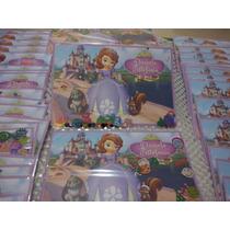 Invitacion Princesita Sofia Con Confetti Metalico