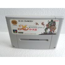 Wanderers From Ys 3 Super Nintendo Japonesa